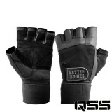 Better Bodies Mens - Gym Wrist Wrap Gloves