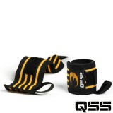 Gasp Mens - Hardcore Wrist Wraps Black OS