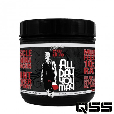 Rich Piana 5 Percent Nutrition - All Day You May (465g)