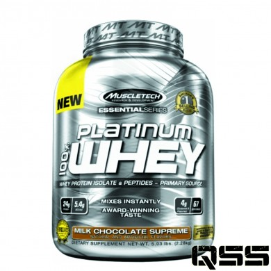 MuscleTech - Platinum 100% Pure Whey (5lbs)