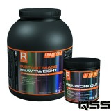 Instant Mass Heavyweight (2000g) + Pre-Workout (300g)