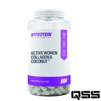 Active Woman Collagen & Coconut (60 Capsules)